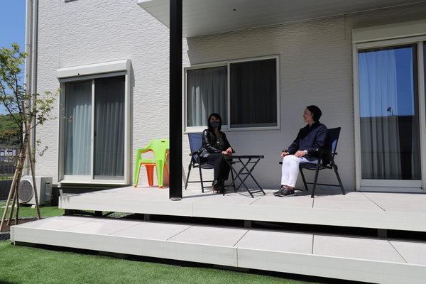 お庭(ガーデン)を施工されたお客様のお家を訪問してまいりました【栃木県栃木市】