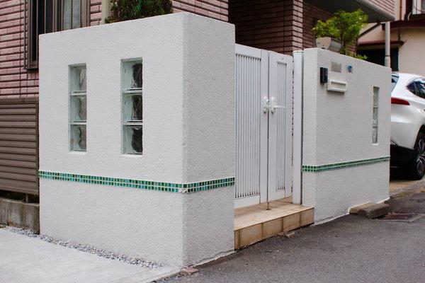 【川崎市中原区】ブロック塀の塗り直し工事